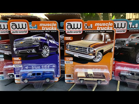Lamley Preview: Auto World 2020 Premium Release 2 With New Chevy Trucks