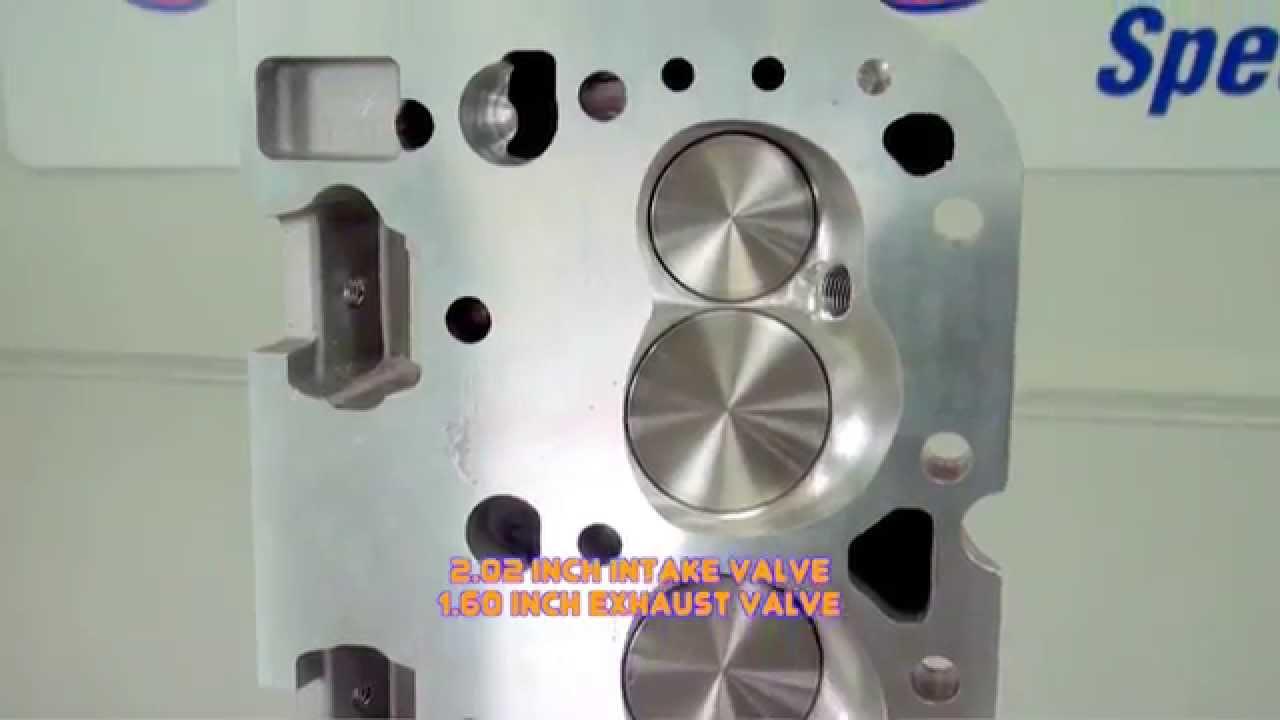 Trick Flow Genx Cylinder Head For Gm Lt1