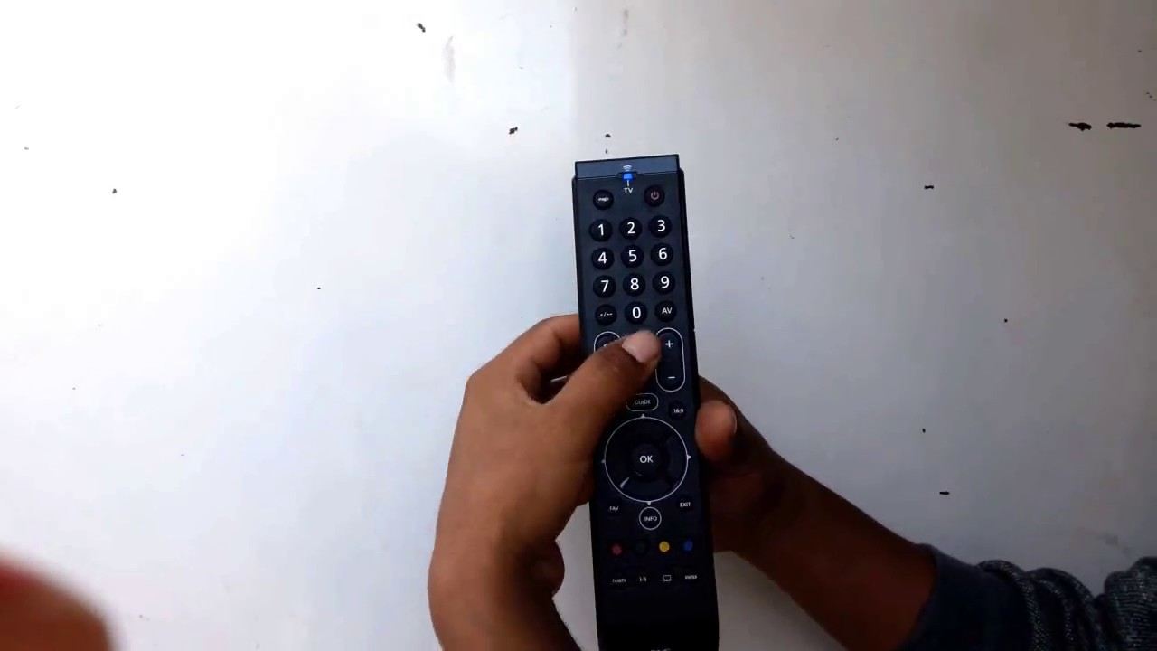 How to program one for all universal remote control youtube.