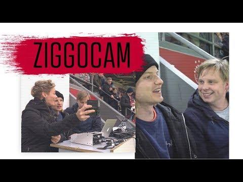ZiggoCam: 'Voorzichtig juichen in de Kuip als Ajax scoort'