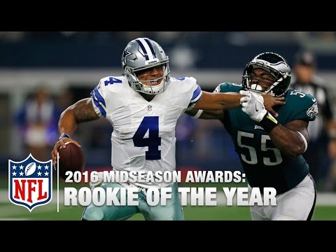Rookie of the Year | 2016 Midseason Awards | Good Morning Football | NFL