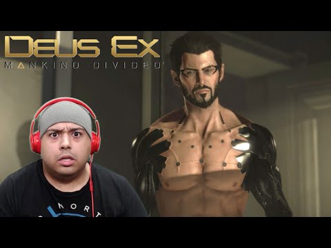 YOU CAN TAKE F#%KING SHOWERS IN THIS GAME [DEUS EX: MANKIND DIVIDED]