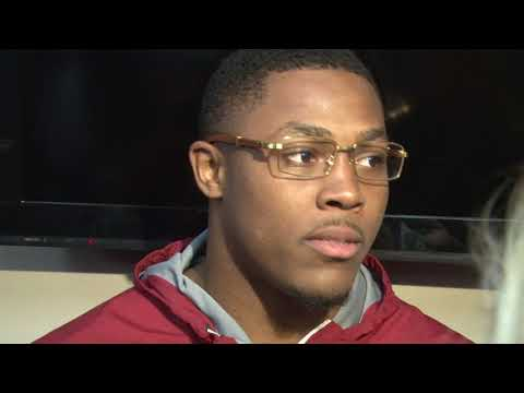 Alabama's Josh Jacobs speaks for the first time post game (11-18-17)