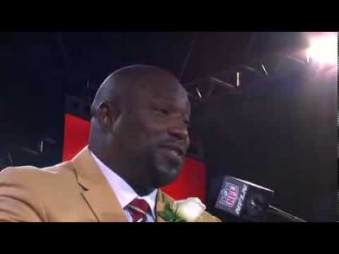 Warren Sapp Hall of Fame Enshrinement Speech
