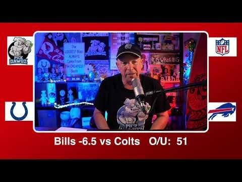 Buffalo Bills vs Indianapolis Colts 1/9/21 NFL Pick and Prediction Saturday Wildcard Playoff Picks