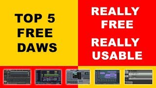Download lagu Top 5 best FREE DAW software for music production 2019