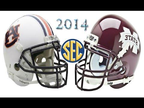 #2 Auburn vs #3 Mississippi State - 2014