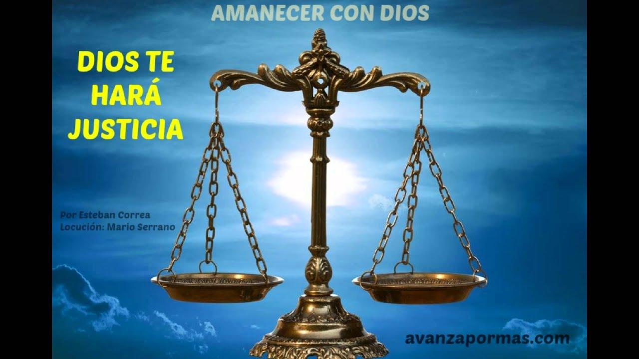 DIOS TE HARÁ JUSTICIA (Video De Reflexión