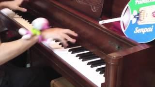 「ファミマ入店音」 をアレンジして弾いてみた 【ピアノ】