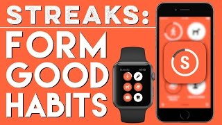 Streaks: The To Do List App That Helps You Form Good Habits | Apps (App Walkthrough)