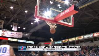 Highlights: Brandon Heath (18pts) helps lead Bighorns past the RGV Vipers