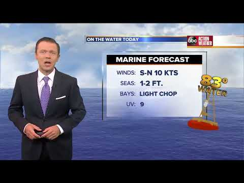 Florida's Most Accurate Forecast with Greg Dee on Saturday, June 2, 2018