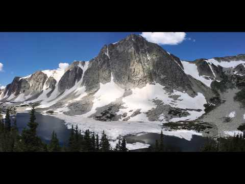 Hiking to Medicine Bow Peak in the Snowy Range