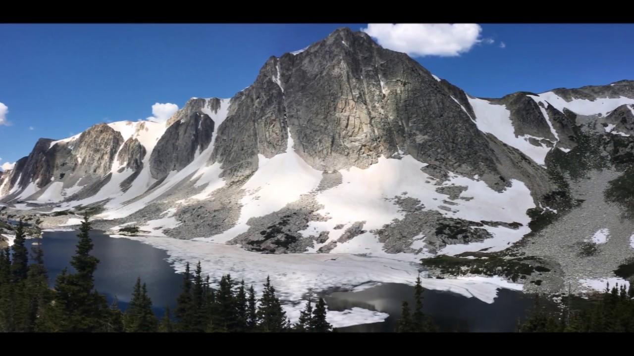 Hiking to Medicine Bow Peak in the Snowy Range