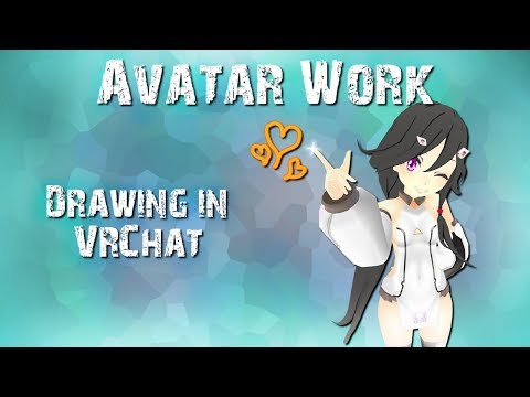 Avatar Work - Using Snail Marker to Draw in VRChat (Updated Method)