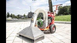 Zacho UKB 625  thermische Wildkrautbeseitung mit Heißluft