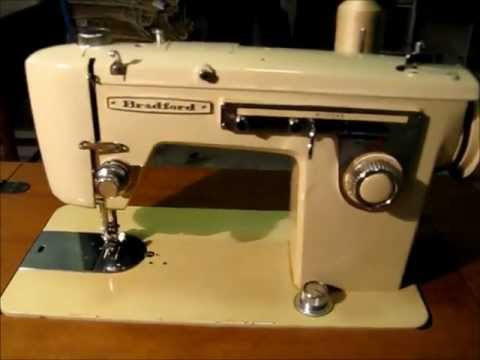 bradford sewing machine