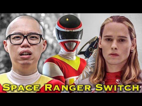 FILM: Space Ranger Switch  feat. Christopher Khayman Lee Power Rangers