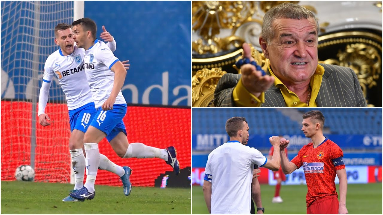 Universitatea Craiova - FCSB 2-0. Reacții și analiză. Gigi Becali a intrat în direct