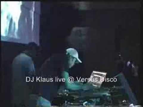 KLAUS - DJ set live @ Versus Disco (part 1)