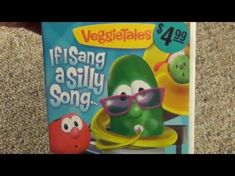 Veggie Tales: If I Sang a Silly Song... DVD Unboxing