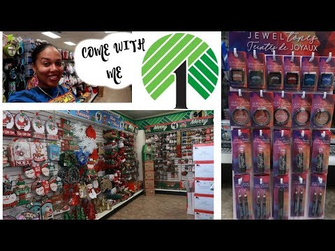 DOLLAR TREE SHOPPING * 2 STORES 1 TRIP/ COME WITH ME