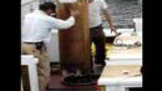 Wooden Boat Maintenance - Unstepping The Mast