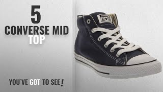 Top 5 Converse Mid Top [2018]: Converse Unisex Chuck Taylor Street Mid Fashion Sneaker Shoe - Navy