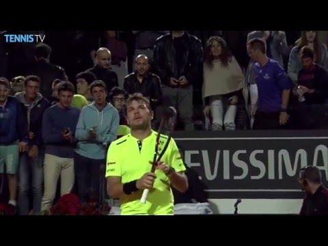 2016 Internazionali BNL d'Italia - Tuesday highlights feat. Nishikori, Ferrer & Wawrinka