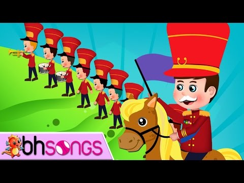 The Grand Old Duke Of York | Nursery Rhymes | Top Kids Songs [ Lyrics Music 4K ]