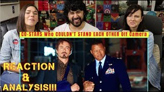 CO-STARS Who COULDN'T STAND EACH OTHER Off Camera - REACTION!!!