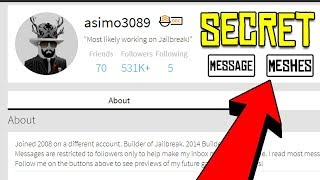 ASIMO IS HIDING THE NEXT JAILBREAK UPDATE! | How to Look at Asimo3089