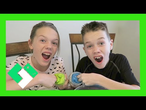 KIDS MAKE HOMEMADE FART PUTTY (Day 1763)
