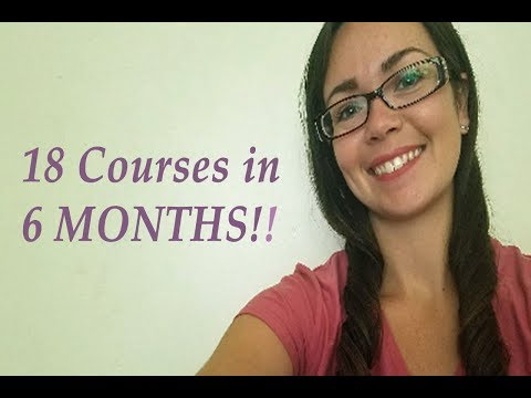 18 Courses in 6 Months!! End of Term 2 Update at WGU!!