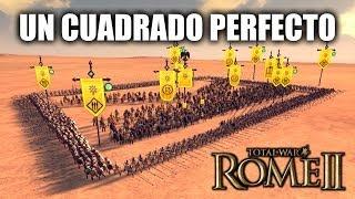 """JUGANDO Rome 2 Total War - """"Un Cuadrado Perfecto"""""""