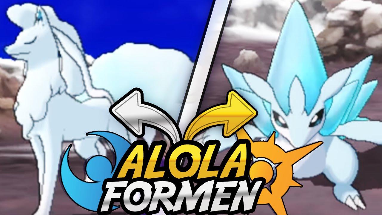 Alola Formen