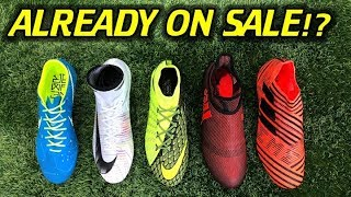Nike cr7 chapter 5, ea sports hypervenom, adidas pyro storm and more! - already on sale!?