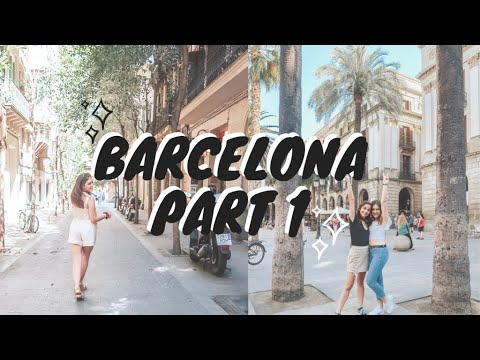 STUDY ABROAD IN BARCELONA | EP. 1 | ut austin study abroad vlog