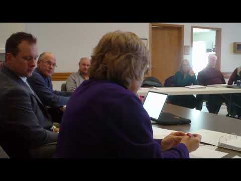 1-16-2019 Glacier Ridge Landfill, Mayville Wisconsin Dump, Quarterly  Meeting Part 1