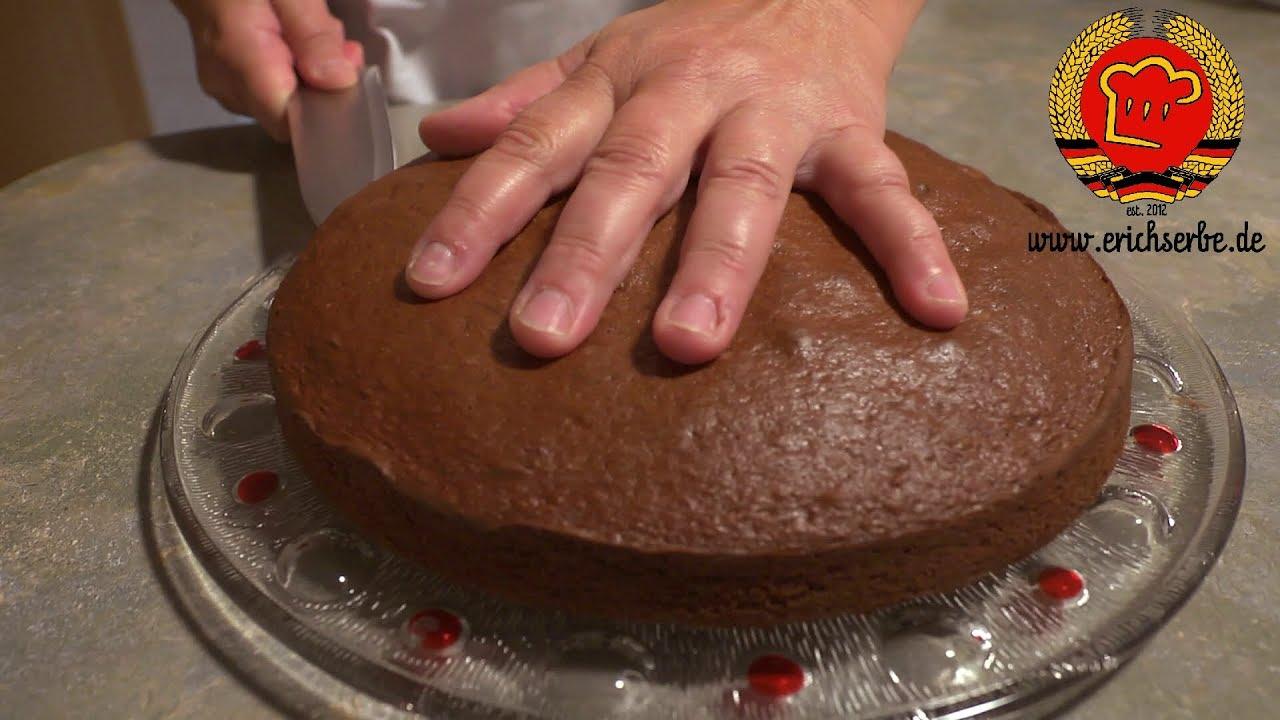 Rezept 161 Schwarze Torte Ostdeutsch Kochen Youtube