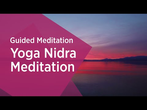 Yoga Nidra  Guided Meditation  Relaxation  Sri Sri Ravi Shankar