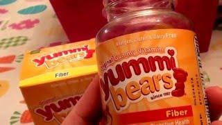 Hero Nutritionals Yummi Bears Vitamins - Fiber 60 count bottle