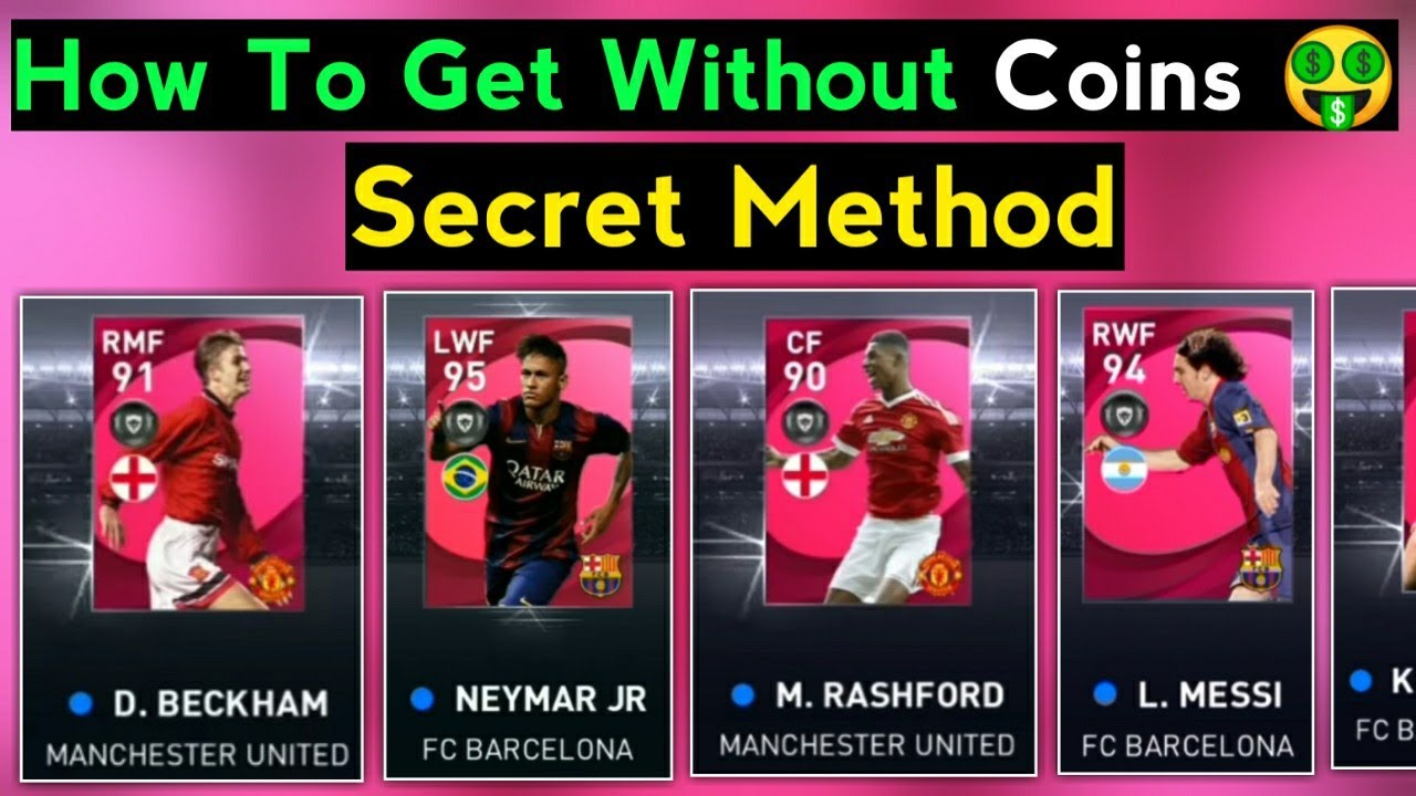 One Easy Method🤫 To Get Iconic Moment Players Without Coins In Pes Mobile 2021 | Iconic Neymar Trick