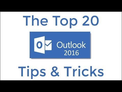 Top 20 Outlook 2016 Tips And Tricks