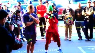 PACQUIAO LEAVES A TRAIL OF FIRE!