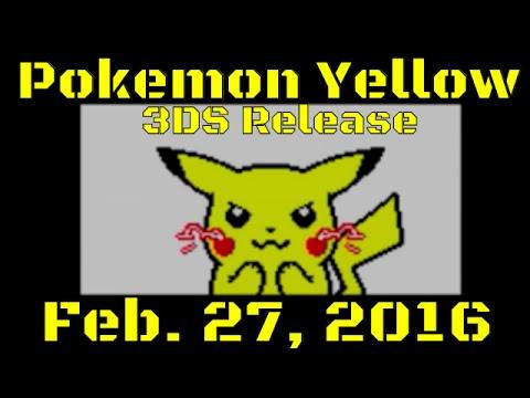 Pokemon yellow remake release date in Perth
