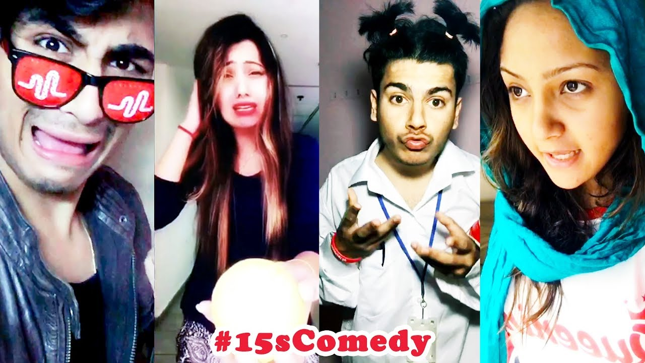 Best 15s Comedy Musical Ly India Compilation 2018 New 15scomedy Musically Videos Youtube