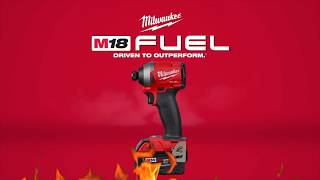 美沃奇 Milwaukee M18 FUEL™ 無碳刷系列衝擊起子機 M18 FID2