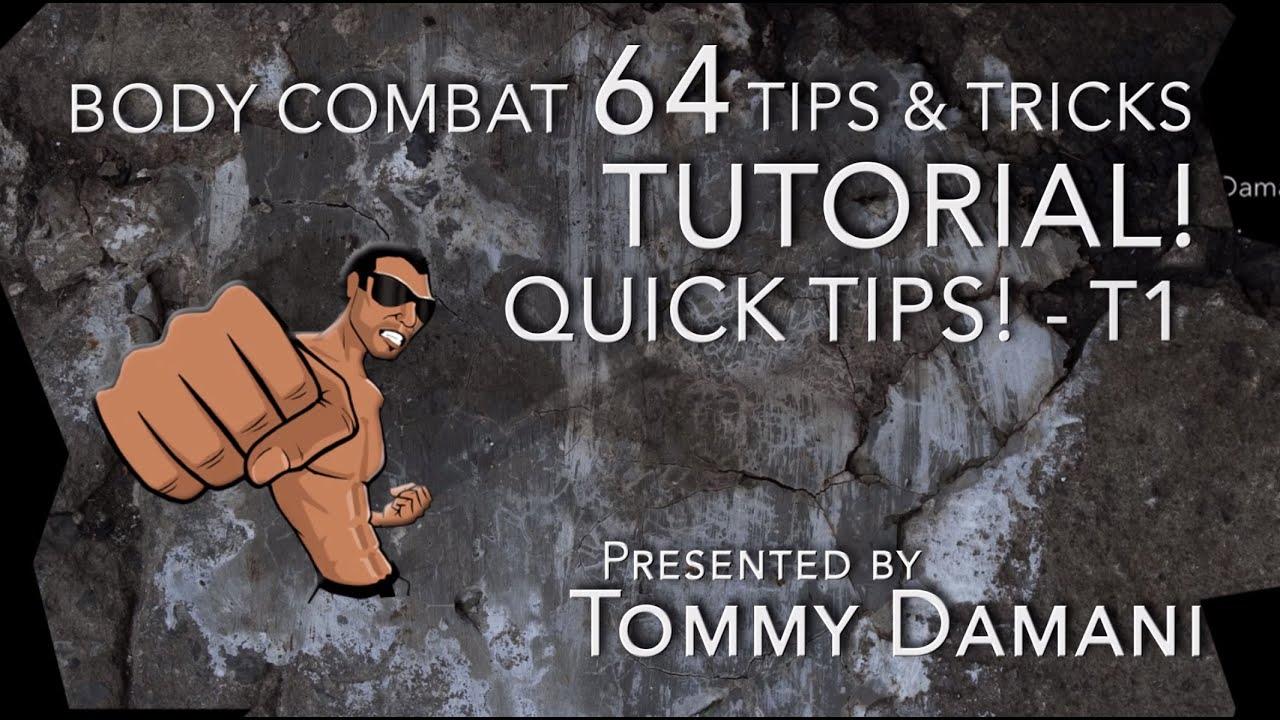 Body Combat 64 Tips & Tricks TUTORIAL! - T1 - YouTube
