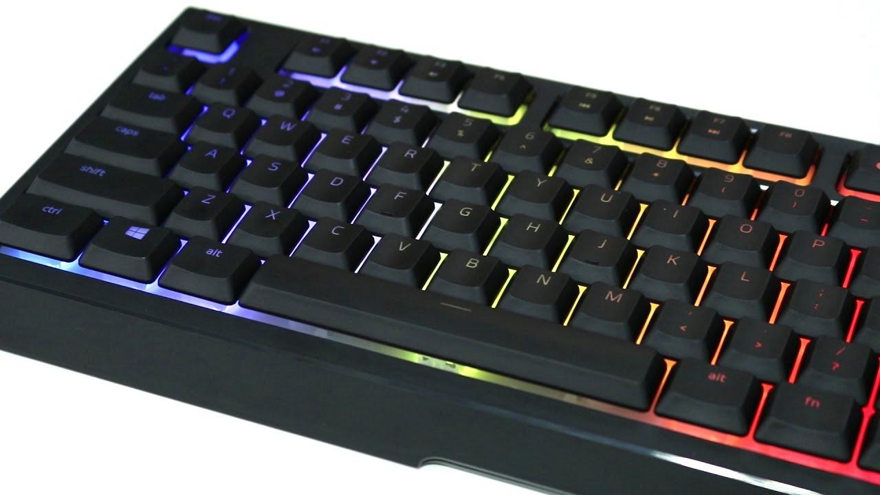 e6edece8a09 Razer Ornata Chroma Keyboard Review - YouTube